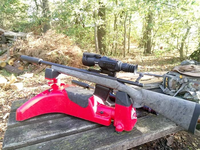 remington 700 with ATN scope