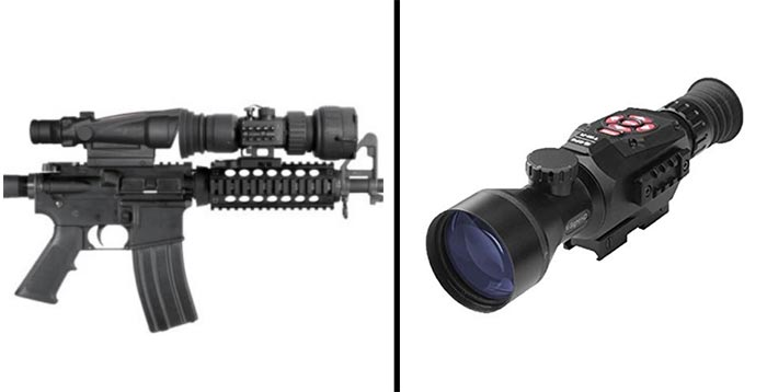 Night Vision Scope or Clip On