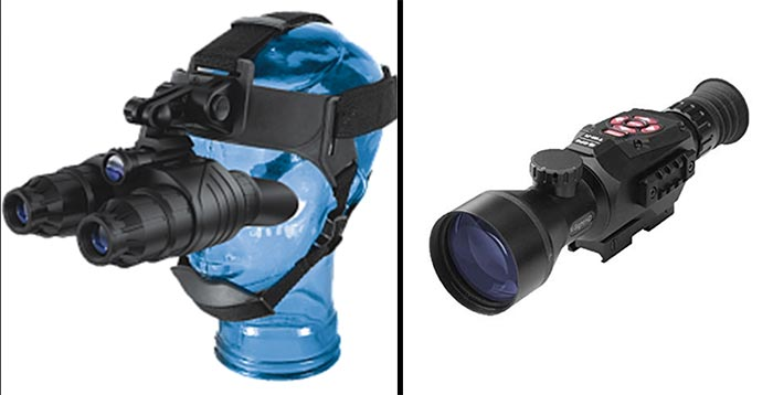 Night Vision Scope vs. Goggles