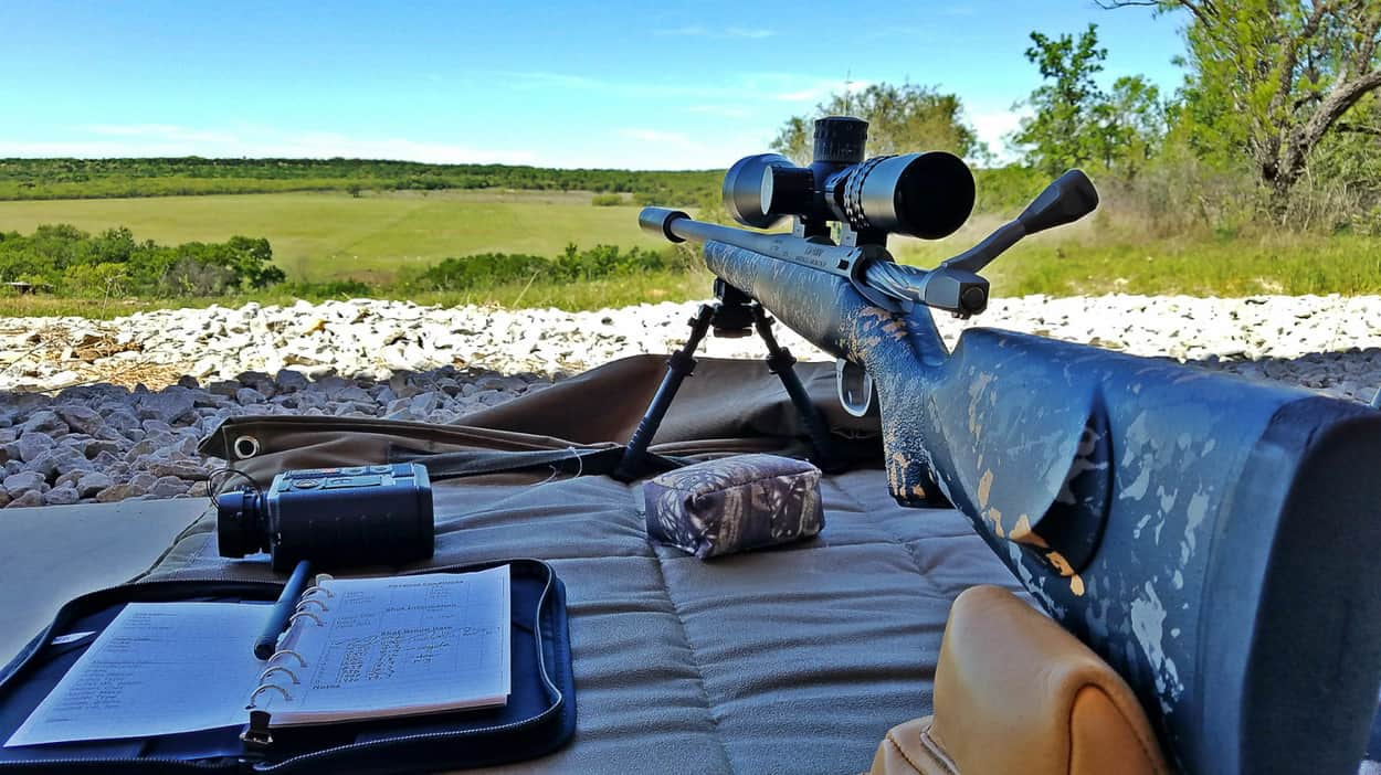 Use scope for long range shooting